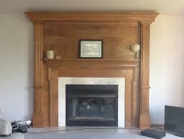 painting a fireplace whiteShould we paint our oak fireplace white