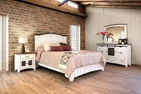 Rustic White Bedroom Furniture Distressed White Bedroom Set Artisan ...