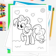 Pypus is now on the social networks, follow him and get latest free coloring pages and much more. Adorable Free My Little Pony Printable Coloring Pages