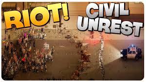 Image result for civil unrest. words