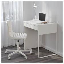 66 Most Out Of This World Ikea Micke Small Desk Glass Computer  White Workstation Shelf Innovation Uptownkidsstyle