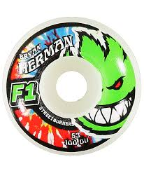 spitfire 53mm wheels. spitfire bryan herman neon kush f1 53mm skateboard wheels f