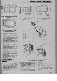 Working On A 1998 Isuzu NPR 4HE1 Engine, I Need Injection Timing ...
