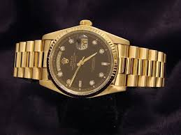 rolex mens gold day date president 18038 for beckertime pin it