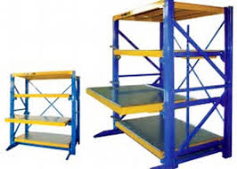Powder Coating Racks Suppliers Powder coated Q100 Heavy duty mold storage racks for Warehouse 76