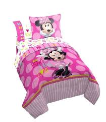 minnie mouse twin size bedding sets