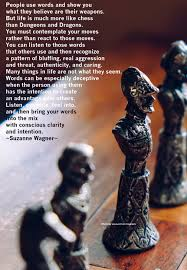 Suzanne Wagner Quote Life Is Like Chess Suzanne Wagner