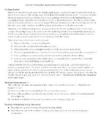 College Scholarship Essay Examples Of College Scholarship Essays Winning Scholarship Essay