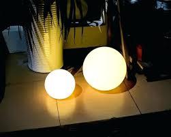 le ball solar lights instructions bunnings lunalite sphere plastic pool outdoor 4 lighting winsome light wonderful