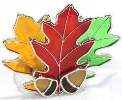Oak Leaf Votive Studio One Art Glass