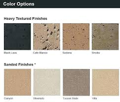 concrete wall finish options color and