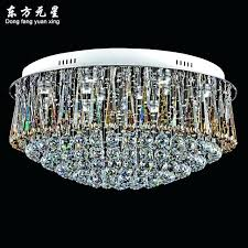 round flush mount chandelier crystal chandelier lamp led light indoor lighting modern luxury round flush mount round flush mount chandelier