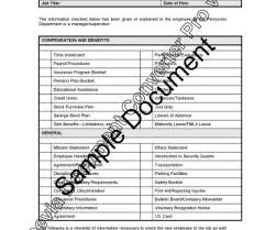Staff Orientation Checklist Employee Orientation Checklist Staff New Pdf Safety Perezzies