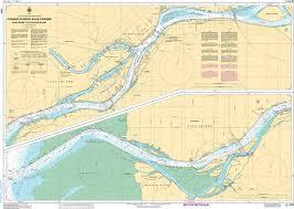 Chs Nautical Chart Chs3490 Fraser River Fleuve Fraser Sand Heads To A Douglas Island