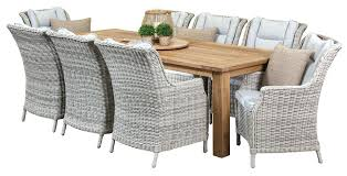 outdoor dining sets for 8. 8 Seat Patio Dining Set Fabulous Outdoor Sets For In Teak Recycled Table  . N