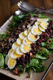 Warm Spinach Salad With Bacon Dressing Self Proclaimed Foodie