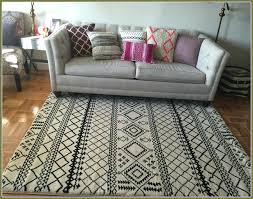 white rug target s ged yellow and furry black area white rug target