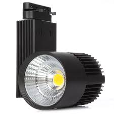 best track lighting for art. 10PCS LED Track Light 20W 30W COB Spotlights AC85 265V Modern Home Deco Ceiling Rail Fixture For Retail Shop Art Gallery-in Lighting From Lights Best