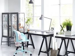 home office organization ideas ikea. home office decor ikea highlight your creativity with dark contrasts by combining the black tornliden table top oddvald organization ideas