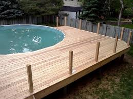 Wooden Pool Decks New Wood Pool Deck Architecture Nice
