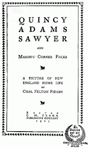 The Project Gutenberg Ebook Of Quincy Adams Sawyer By Chas