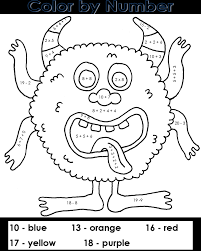 Free printable math worksheets help kids practice counting, addition, subtraction, multiplication just plain common sense printable math worksheets for practice, your print and practice number math sheets for kindergarten. Free Printable Color By Number Coloring Pages Best Coloring Pages For Kids