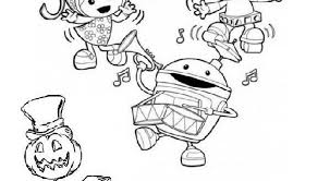 Small Picture team umizoomi halloween coloring sheets 591540 Coloring Pages