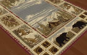 rustic rugs cabin rugs clearance western rugs