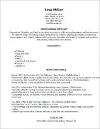 Babysitting Resume Templates Simple Download Now Babysitter Resume Template 40 Free Word Pdf Documents