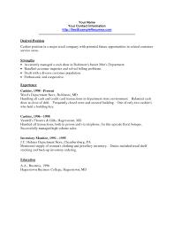 Cashier Resume Samples Resume Template