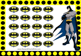 Batman Behavior Chart Batman Behavior Charts