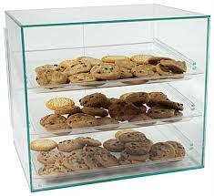 cookie display case