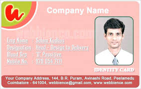 Blank Id Card Template Fascinating Staff Id Card Template Comeunity