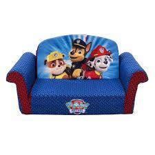 amazoncom marshmallow furniture paw patrol flip open sofa toys