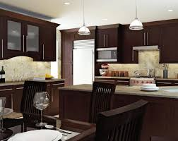 Brown Kitchens Designs Dark Kitchen Cabinets With Dark Countertops