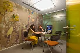 Google office environment Teamwork Googles Moscow Offices Feature Warm And Inviting Colours That Are Less Intrusive To The Eyes As Opposed To Some Other Iterations Of Google Offices Chairoffice 10 Of Googles Best Offices From Around The World