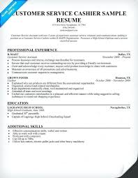 Entry Level Customer Service Resume Enchanting Resume Profile Examples For Cashier With Example Of Cashier Resume