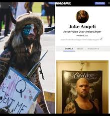 Jake Angeli (Capitol Building Protestor) works as an actor, his page on  Backstage was just taken down - ANY ARCHIVES??? : DataHoarder