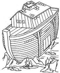 Kids N Fun 8 Kleurplaten Van Bijbel Ark Van Noah