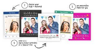 selfie frame prop cutouts