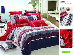 great red and blue duvet cover a covers exterior storage decor