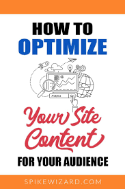 Design Your Own Spikes How To Optimize Your Site And Content For Your Audience