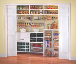 Furniture, Walk In Pantry Shelving Systems Ideas Awesome White Modern  Kitchen Vintage Home Design: