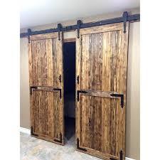 interior double door hardware. Amazon.com: Yaheetech 12 Ft Double Antique Country Style Black Steel Sliding Barn Wood Door Hardware Track System Kit Set: Home Improvement Interior I