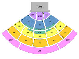 Cricket Amphitheatre Seating Chart Seating Chart Providence Medical Center Amphitheater
