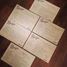 Recipe Card Templates Free Free Recipe Template Download Major Magdalene Project Org