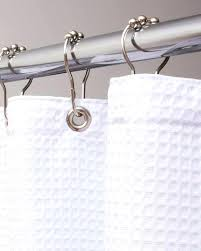 waffle shower curtain white diamond waffle shower curtain hookless waffle white fabric shower curtain and liner