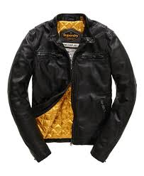 superdry mens endurance comp leather jacket black superdry leather jackets s57f9703 superdry hoos new york superdry t shirts in new york