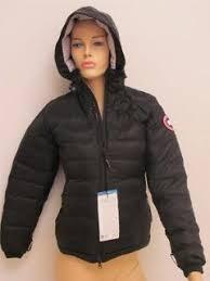 ... canada goose ladies camp down hooded jacket ...