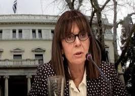Grecia: Katerina Sakellaropoulou se convierte en la primera mujer que preside el país